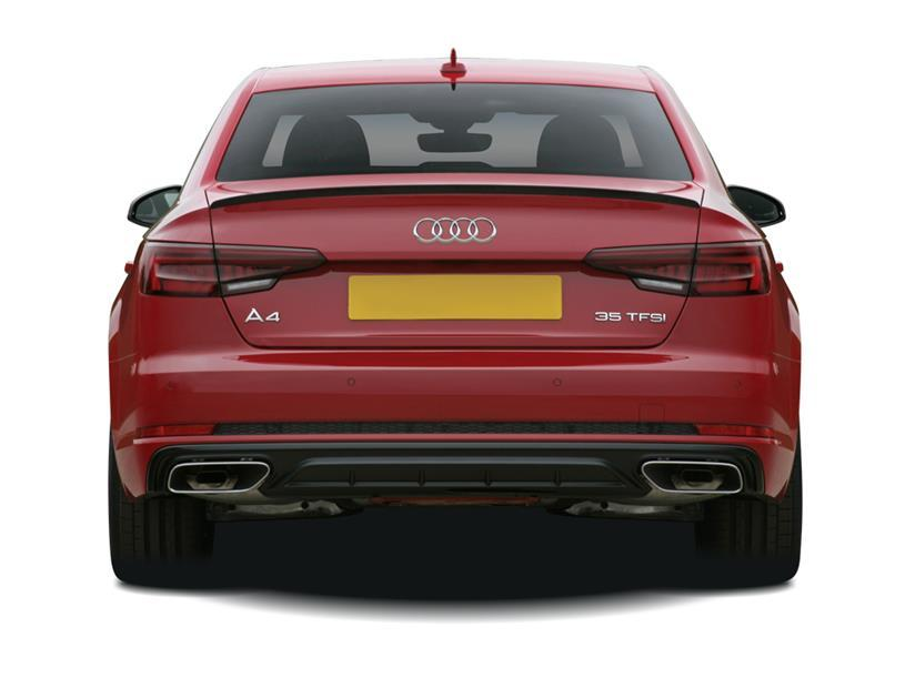 Audi A4 Saloon 40 TFSI 204 Black Edition 4dr S Tronic [C+S]