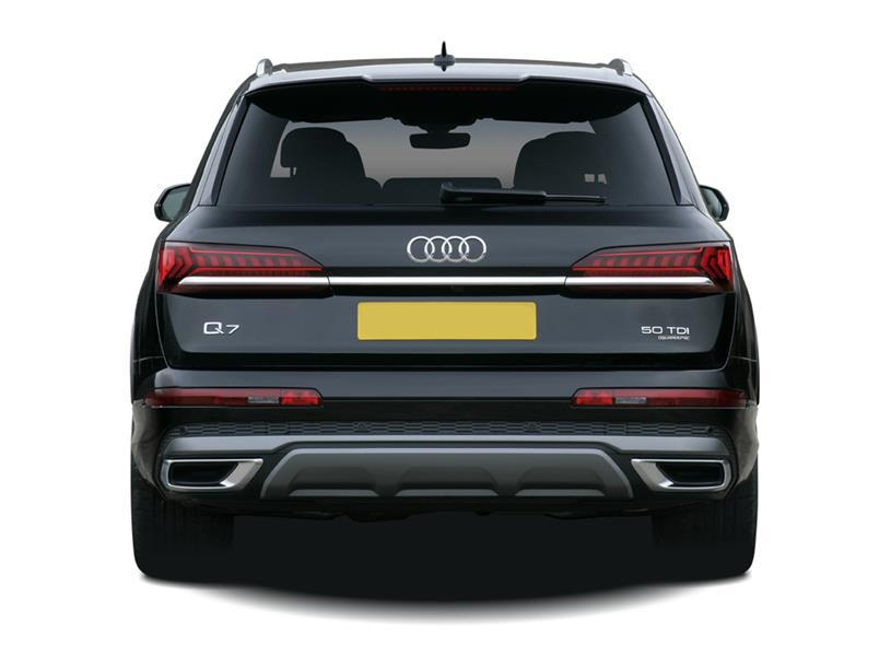 Audi Q7 Estate SQ7 TFSI Quattro Black Edition 5dr Tiptronic [C+S]